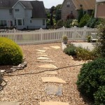 Harrisonburg City: Stone paver walk